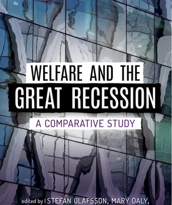 Book Publication: Welfare and the Great Recession